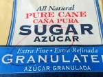 Extra-fine, or caster sugar.