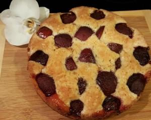 plum-torte